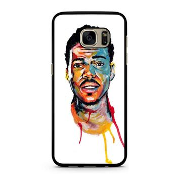 Acrylic Painting Of Chance The Rapper Samsung Galaxy S7 Case