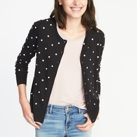 Classic Crew-Neck Cardi for Women |old-navy