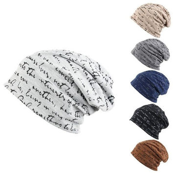 Mens Womens Hip-Hop Warm Winter Cotton blended Ski Beanie Skull Cap Unisex Hat = 1930481604