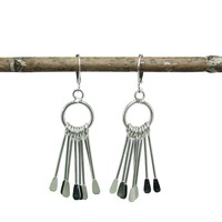 Chime Earrings in Silver