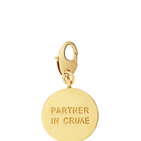 Kate Spade Partners In Crime Charm Gold ONE