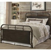 1810BQR Logan Bed Set - Queen - Bed Frame Included