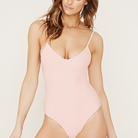 Crisscross Back One-Piece | Forever 21 - 2000184852