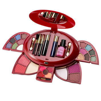 New arrival woman brand cosmetic makeup set, multi-function make up naked palette, eyeshadow palette including makeup brushes