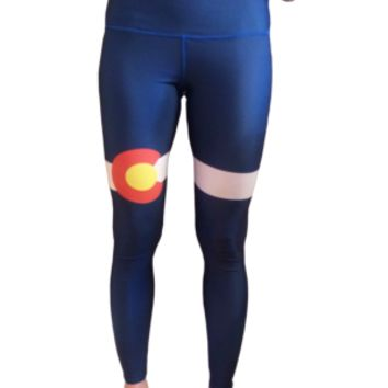 Colorado Flag Yoga Pants