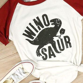 Girls Night Winosaur Shirt