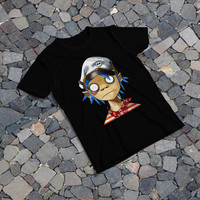 "THE SAMPLE size of the print image on the T-Shirt 12""x16"" Gorillaz 2D"