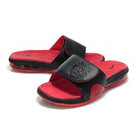 Nike Air Lebron Slide Red/black Casual Sandals Slipper Shoes Size Us 7 11 | Best Deal Online