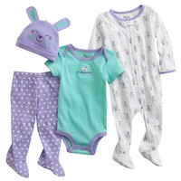 First Moments Funny Bunny Sleep & Play Set - Baby