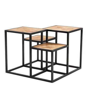 Eichholtz Smythson Side Table - Parquette