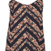 Evie Mix Floral Print Woven Cami