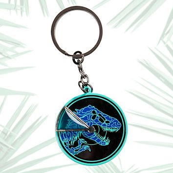 Universal Studios Jurassic World Radar Spinning Keychain New with Tags