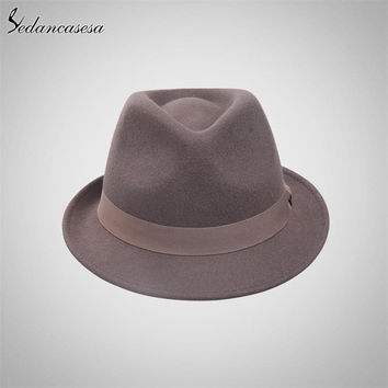 Fedora Jazz Hat Men/Women 100% Wool