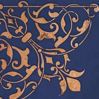 Arabesque Corner Stencil for Wall Decor and More