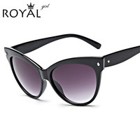Hot Sell New Designer Women Glasses Inspired Sun Glasses Cateye Women Oversize Cat Eye Celebrity Sunglasses ss355