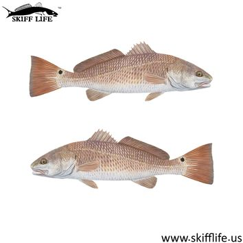 YETI Cup Decals Redfish Decal Lifelike