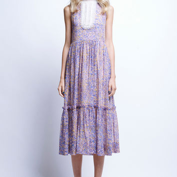 Georgiana Ruffle Dress - Dresses | Karen Walker
