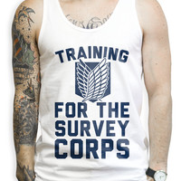 Training For the Survey Corps Tank Top.