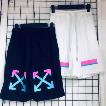 DCCK2 1077 off-white Terry shorts