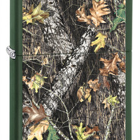 Zippo Mossy Oak Break-Up Green Matte Lighter