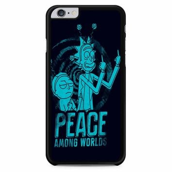 Rick And Morty Peace Among Worlds 2 iPhone 6 Plus / 6s Plus Case