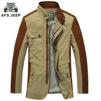 Free shipping Winter Warm Coats Men Jackets 2017 New Cotton Mens jackets and Coats Cargo High Quality For Autumn and Warm 75hfx