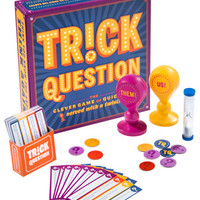 Trick Question Game: Q&A party game with unexpected answers