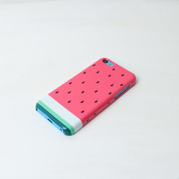 Watermelon iPhone Case For - iPhone 4 Case - iPhone 5 Case - iPhone 5C Case - Samsung S3 - Samsung S4