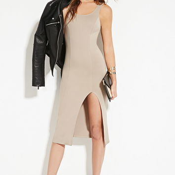 Front-Slit Bodycon Dress | Forever 21 - 2000151086