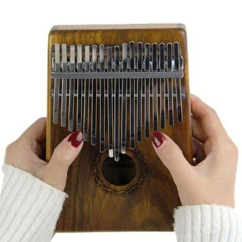 ONETOW INITER 17 key  Kalimba  Solid KOA  African Thumb Piano Finger Percussion Keyboard  Kids