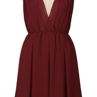 **Faith Maroon and Nude Dress by Goldie - New In This Week  - New In