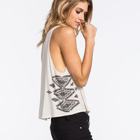 Billabong Tuk Tuk Go Womens Tank Stone  In Sizes