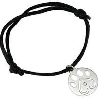 Sterling Silver Our Cause for Paws™ Diamond Dog Paw Bracelet
