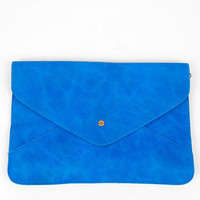 Dear Anne Envelope Bag in Blue :: tobi
