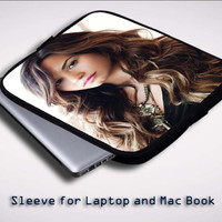Demi Lovato Premieres X0636 Sleeve for Laptop, Macbook Pro, Macbook Air (Twin Sides)