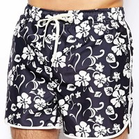 Selected Floral Swim Shorts