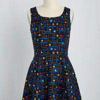 Name of the Gamer Dress | Mod Retro Vintage Dresses | ModCloth.com