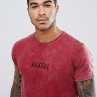 Urban Threads Embroidered Rascal Print T-Shirt at asos.com