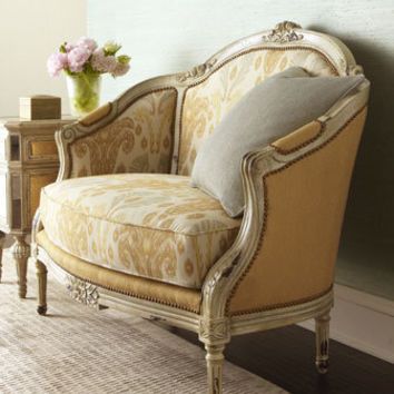 "Massoud - ""Milly"" Settee - Horchow"