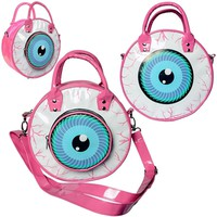 Kreepsville - EYEBALL BAG PINK