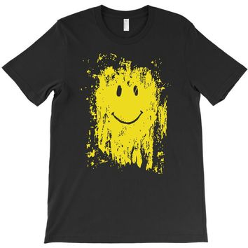 mud smiley face T-Shirt