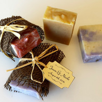 Wedding Soap Favors (half bars)