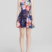 Bardot Dress - Floral Fit and Flare | Bloomingdales's