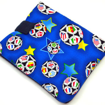 "Soccer Tablet Case /Sports Tablet Case For  Kindle Fire HD 7"" ,i Pad Mini,Nook HD 7, Samsung Galaxy 7"