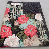 Oriental Roses Blanket Quilted