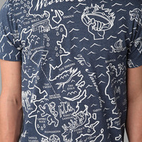 Game Of Thrones Map Tee