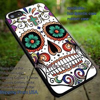 Skull Face Image iPhone 6s 6 6s+ 5c 5s Cases Samsung Galaxy s5 s6 Edge+ NOTE 5 4 3 #art DOP6185