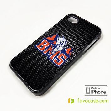 New BMS Blue Mountain State The Goats Logo iPhone 4/4S 5/5S/SE 5C 6/6S 7 8 Plus X Case Cover