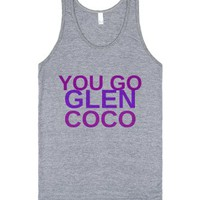You Go Glen CoCo - J-Unisex Athletic Grey Tank