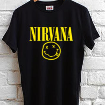 nirvana logo T-shirt men, women and youth